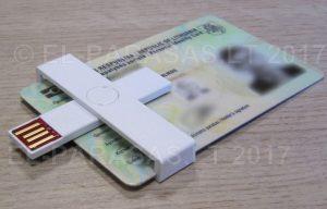 +ID Smart Card Reader - Mažiausias el. parašo skaitytuvas - Elektroninio parašo instaliavimas