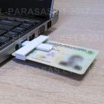 Mažiausias el. parašo skaitytuvas, +ID smart card reader, ATK skaitytuvas