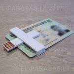 +ID smart card reader, lustinių kortelių skaitytuvas, Mažiausias el. parašo skaitytuvas