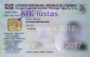 ATK skaitytuvas +ID Smart Card Reader - Elektroninio parašo instaliavimas, diegimas, apmokymai